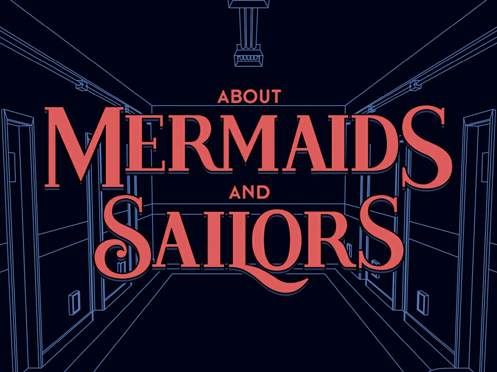 Cartaz About Mermaids and Sailors
